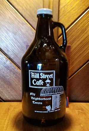 Albany Hill Street Cafe Bar Tavern Craft Beer Growlers
